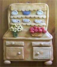 salt dough wall hanging