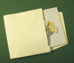 homemade card envelope