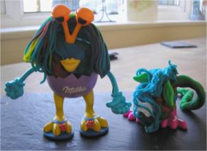 playdough figures