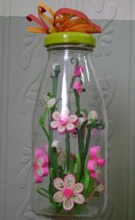 quilled flower craft