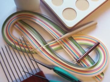 quilling paper strips