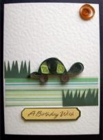 paper quill card