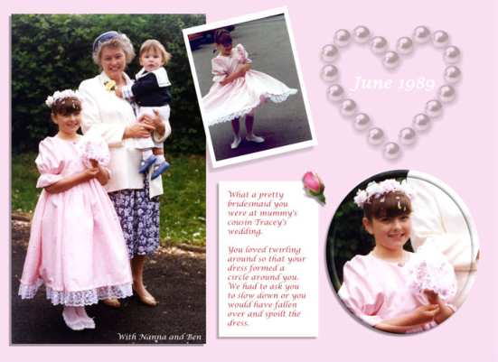 Digital scrapbooking layouts wedding 1