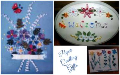Paper Quilling Gift Ideas