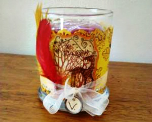 Candle Wrap Craft