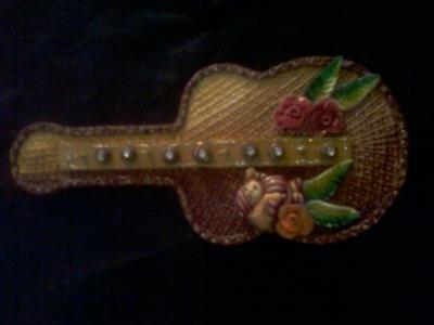 Guitar Key Holder