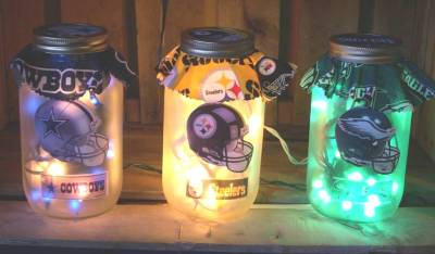 Craft Ideas Mason Jars on Lighted Mason Jars By Jim S Custom Crafts