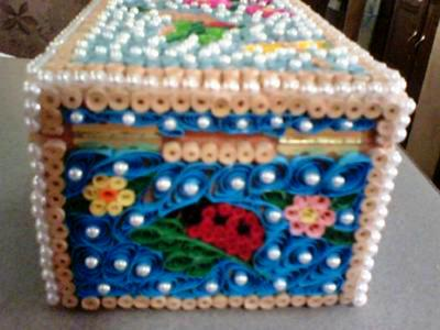Paper Quilled Jewelry Box