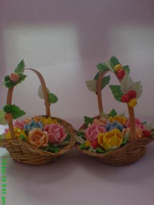 Handmade Flower Baskets