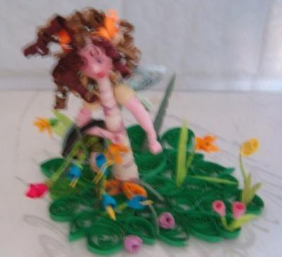 3D Quilled Fairy